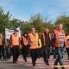 Волинські дорожники знову протестують: перекрили трасу Луцьк-Рівне