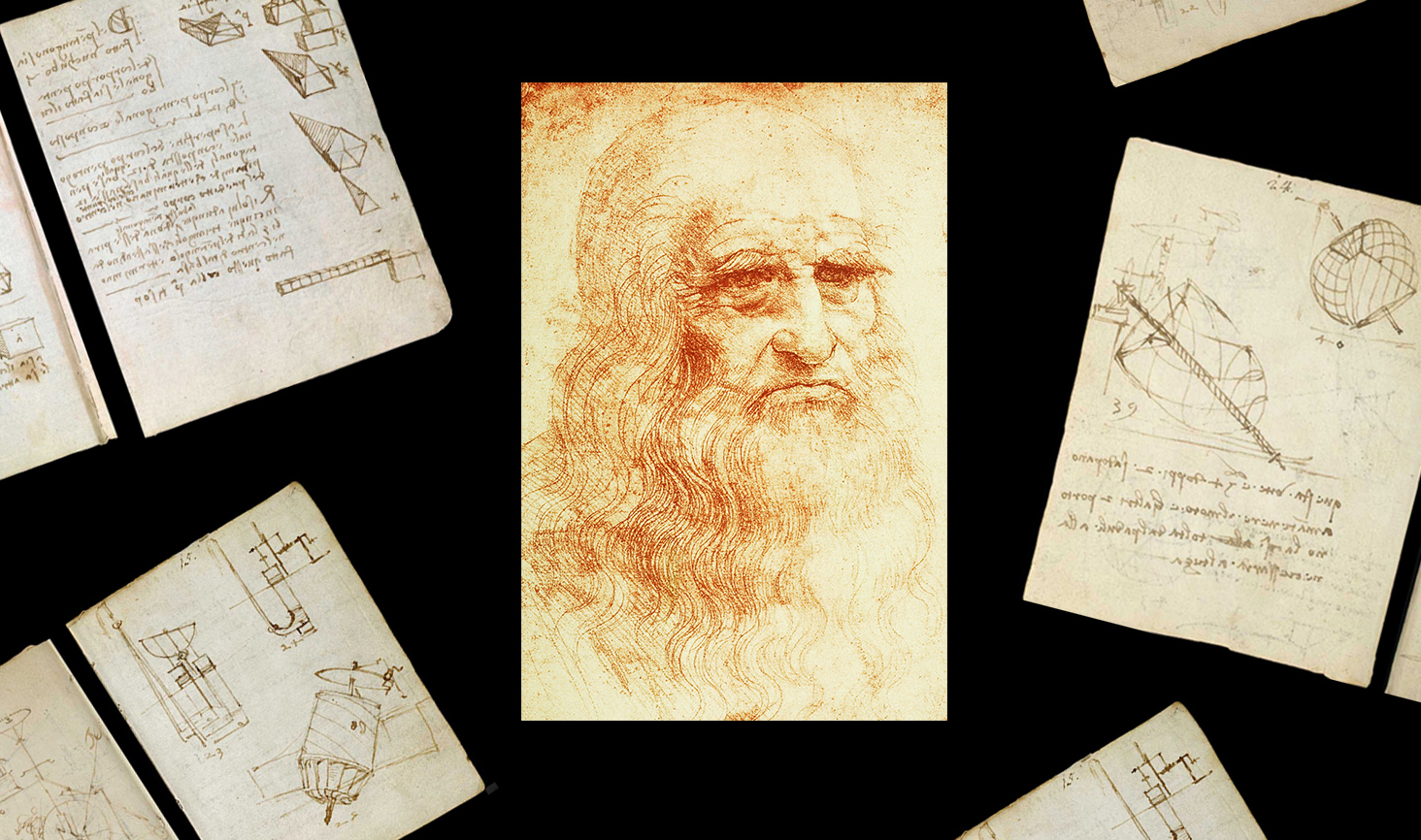Оцифрували колекцію Леонардо да Вінчі