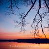 Шацькі озера – у полоні сутінок. Фото