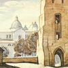 Луцьк на картинах архітектора Метельницького