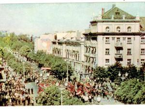 Історія післявоєнного будівництва проспекту Волі