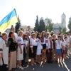 У Луцьку – акція «Українська вишиванка»