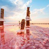 Рожеве українське озеро, яке не має аналогів у світі