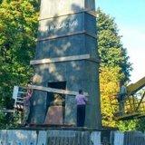 На Одещині розбирають мавзолей радянського ідола