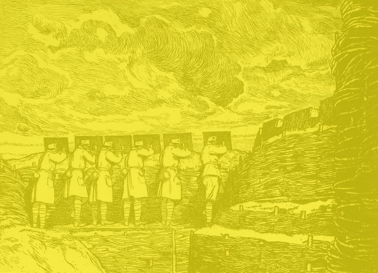 Волинь 1916 на малюнках угорця Сандора Кубінія
