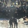 У Києві під час мітингу у військовослужбовців кинули бойову гранату