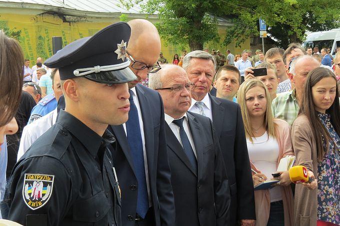 У Луцьку презентували нову патрульну поліцію