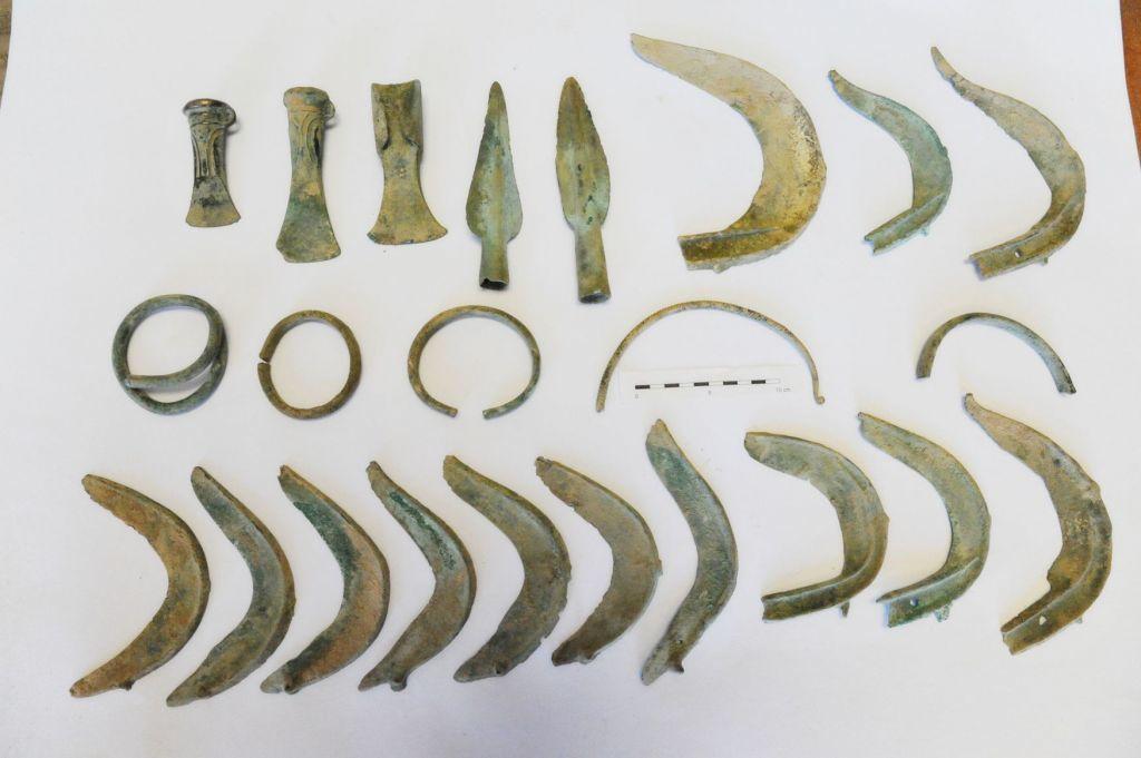У Чехії собака відкопав скарб бронзового століття