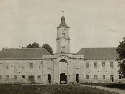 Волинський Версаль: Олицький замок 100 років тому