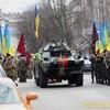Лучани відзначили урочистою ходою річницю виведення військ з Афганістану