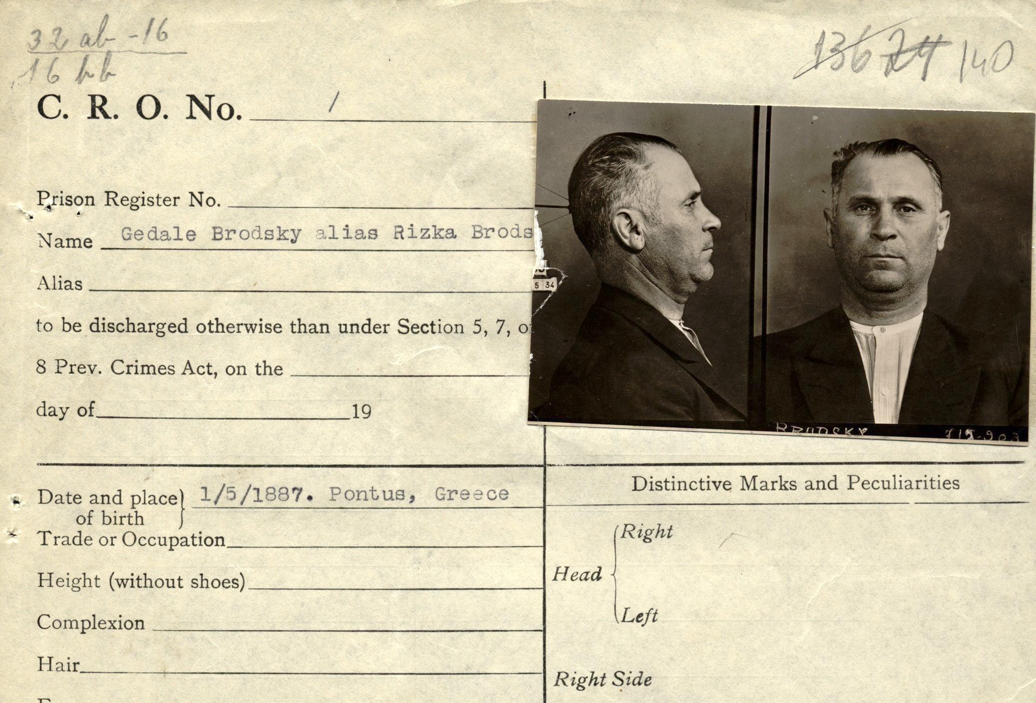 Арешт у Луцьку фальшивомонетників з Європи 1930-х