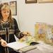 Ілюстраторка з США подарувала свої роботи музею Франка