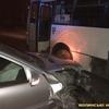 Аварія у Луцьку: «Мерседес» влетів у маршрутку