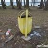 Береги Шацьких озер після зими «запливли» сміттям. ФОТО