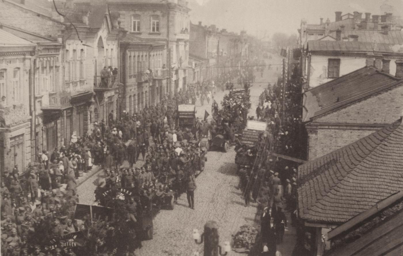 Луцьк на початку революції 1917