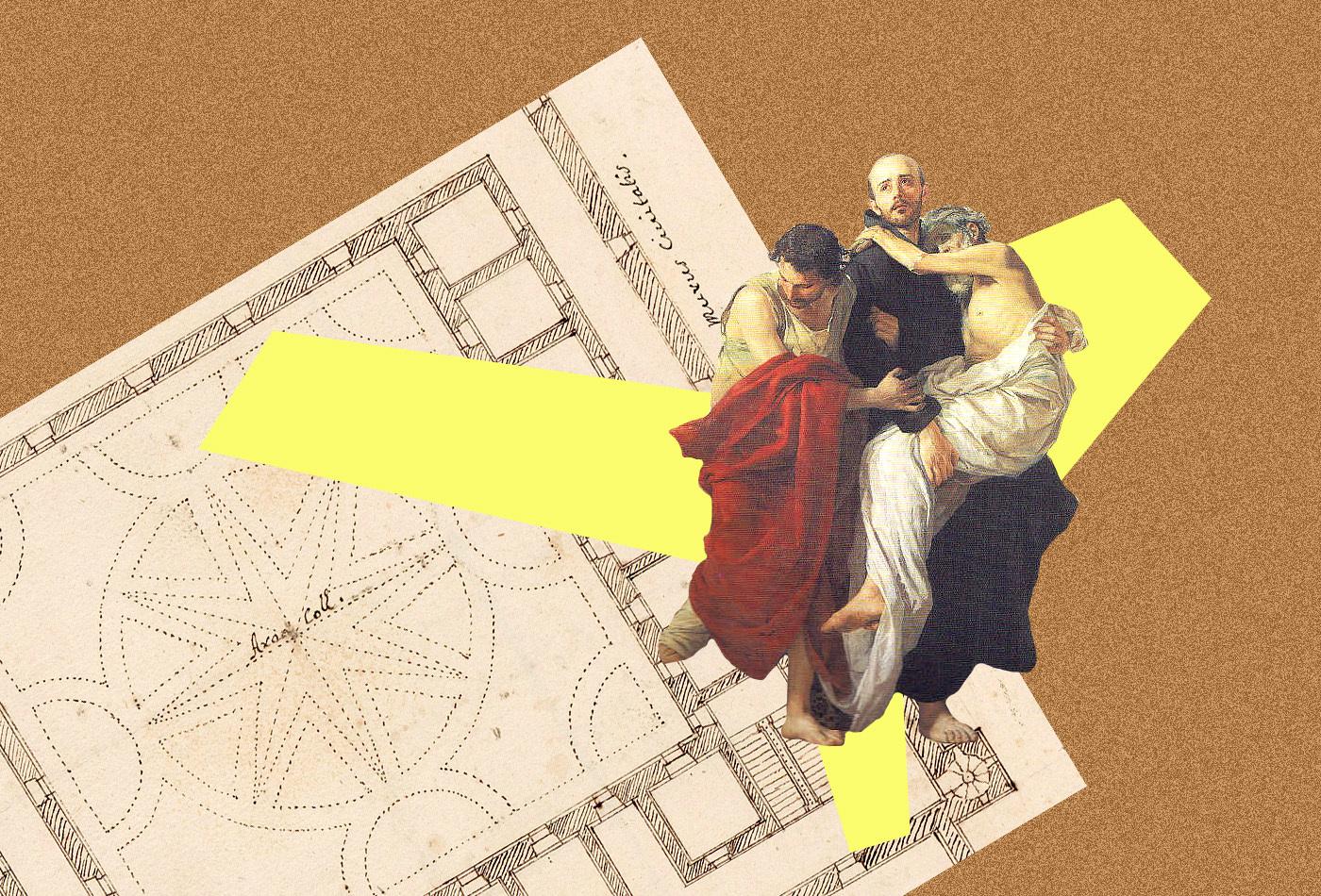 Луцький проект італійського архітектора з французького архіву
