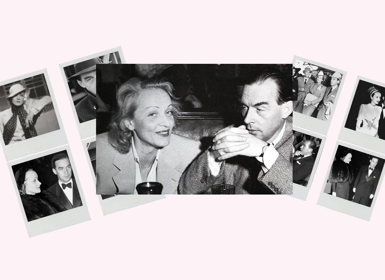 Кохання у фото: Еріх Марія Ремарк і Марлен Дітріх